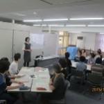 17名の参加者がイマドキの子育て事情を学びました